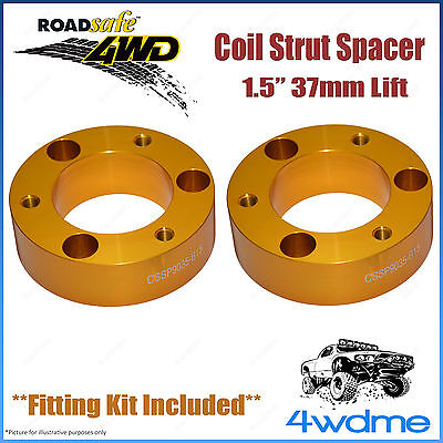 AU139.50 • Buy Pair Mitsubishi Pajero NM NP NS NT 4WD Front Coil Strut Spacer 1.5  37mm Lift