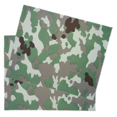 2 PACK Green Camouflage Glasses Spectacle Lens Cleaning Microfiber Cloth • 2.99£