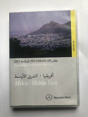 £134.51 • Buy Mercedes Benz Navigation Dvd Comand Aps 2013 For Africa And Middle East