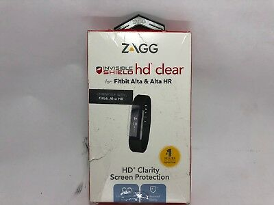 $ CDN13.82 • Buy ZAGG - InvisibleShield HD Clear Screen Protector For Fitbit Alta & Alta HR & Ace