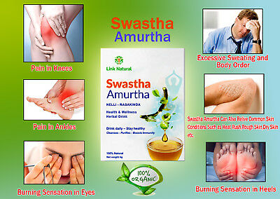 $ CDN6.62 • Buy Swastha Amurtha Natural Ayurvedic Herbal Plants Exctact Tea Drink Blood Cleaner