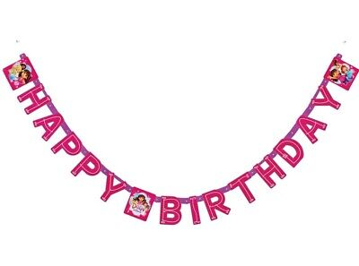 Dora And Friends Dora The Explorer Happy Birthday Party Banner Decorations • 1.92£