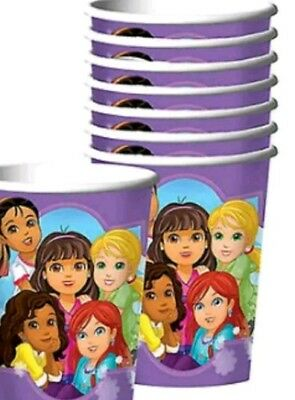 Dora And Friends Party Supplies Paper 9oz Cups-8ct. • 1.26£