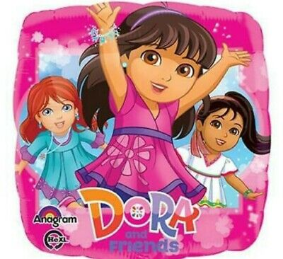 3 Mylar Foil Balloons DORA & Friends Birthday Party Supplies Decorations  • 2.87£