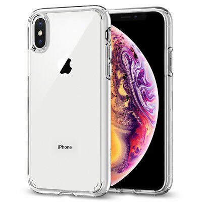 AU16.72 • Buy For IPhone X XS XS Max XR Case Spigen®[Ultra Hybrid] Protective Clear Cover