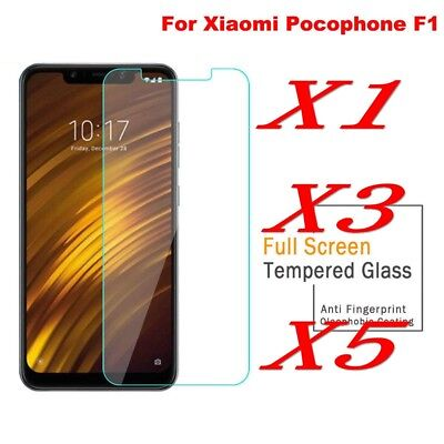 AU3.26 • Buy HIGH QUALITY PREMIUM REAL TEMPERED GLASS SCREEN PROTECTOR FORXiaomi Pocophone F1