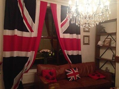 Union Jack Curtains   • 100£