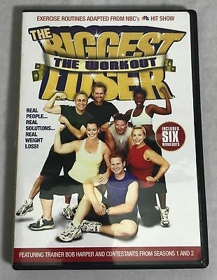 The Biggest Loser The Workout Bob Harper 6 Routines DVD • 10.02£