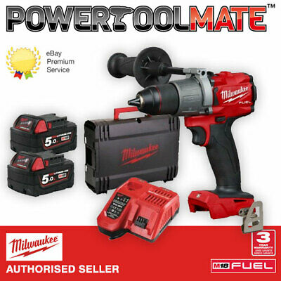 £289.99 • Buy Milwaukee M18FPD2-502X 1/2  Fuel Percussion Drill With 2 X 5.0Ah Batteries