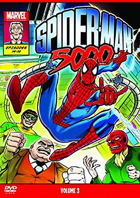 SPIDERMAN 5000 VOL Volume 3 III DVD Animation Cartoon UK Spider Man New Seald R2 • 16.99£