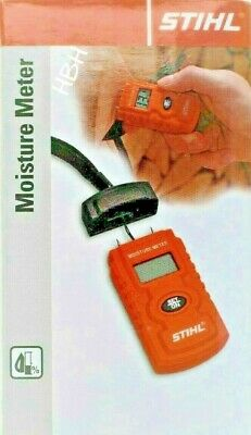 Stihl Moisture Meter Humidity Tester Damp Detector Logs Timber Cement Paper Wood • 19.99£