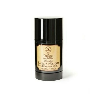 Taylor Of Old Bond Street Luxury Sandalwood Deodorant Stick 75ml • 12.95£