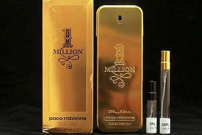 AU22 • Buy 1 Million For Men By Paco Rabanne - Choose Your Sample Size