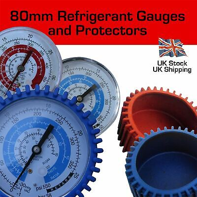 £8.95 • Buy Replacement 80mm Refrigerant Manifold Gauges