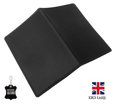 £3.25 • Buy SOFT REAL GENUINE LEATHER BLACK Travel Card Holder Wallet Bus Pass Ticket Oyster