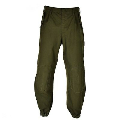 $27.22 • Buy Genuine Italian Army Combat Trousers Military Pants Field Combat O.D Olive