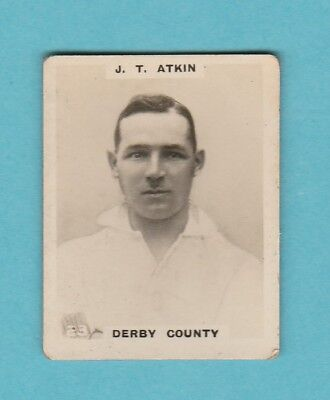 £2.45 • Buy Football - Phillips Pinnace - Card No. 23  -  Atkin Of Derby County -  1922
