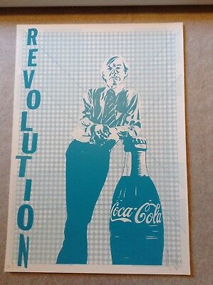 £100 • Buy Pure Evil Signed Print Art Car Boot 2018 Revolution, Andy Warhol And Coke Bottle