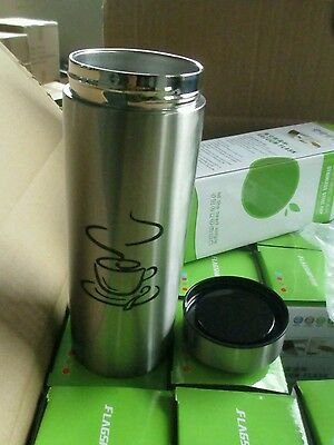£10.99 • Buy Thermos Cup, Totally Leak Proof.  Thermal And Insulated.  Travel Mug 400ml