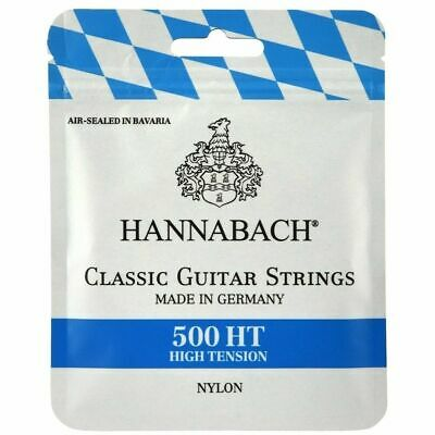 $ CDN13.54 • Buy Hannabach 500HT Classical Guitar Strings High Tension Made In Germany 500-HT