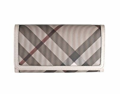 5e4ac27fd4bc Womens Burberry Smoked Trench Check Penrose Continental Wallet • 315.21