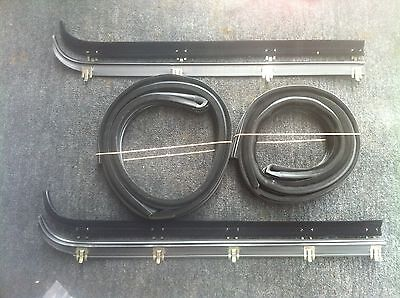 AU254.90 • Buy 87-96 Ford F100 Parts F150 Front Door Weather Strip + Bailey Channel Rubber Ki