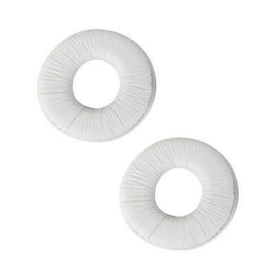 Replacement Ear Pads Cushions Soft Sponge Or Sony MDR ZX100 ZX300 White • 3.06£