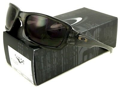 3ff760f8859e4 NEW Oakley Fives Squared Sunglasses Grey Smoke L Warm Grey OO9238-05 •  59.97