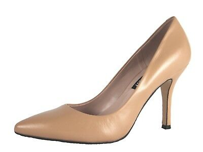 AU69.99 • Buy Nine West Women's NWFLAX Nature Ligna Lamb Skin Leather Pointed Toe Pumps Shoes