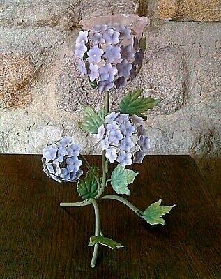 £4.99 • Buy Votive Candle Holder Hydrangea Flowers Wedding Party Table Centrepiece 300185