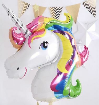 AU3.99 • Buy Unicorn Foil Balloon Balloons X 2 Small Fantasy Horse Lolly/loot Birthday Party