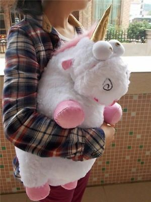 Large 60CM Despicable Me Fluffy Unicorn Soft Plush Doll Fluffy Toy Gift 24 Inch • 13.95