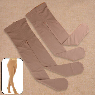 £9.92 • Buy Nylon FOOTED ICE ROLLER SKATING DANCE TIGHTS VARIOUS SIZES NATURAL TAN  S M L