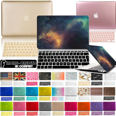 £10.99 • Buy Rubberized Case Cover With Keyboard Skin For Apple MacBook Air Pro 11 13 15 Inch