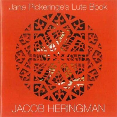 Jacob Heringham - Jane Pickeringes Lute Book /Heringman [CD] • 13.18£