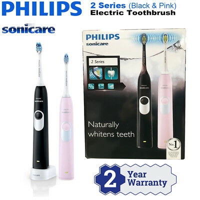 AU159.99 • Buy Philips Sonicare 2 Series Rechargeable Electric Toothbrush 2 Handle Pack AUSTOCK