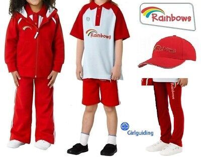Rainbow Uniform Hoodie Polo Top Leggings Jog Pants Cap Sash Official Uniform • 11.70£