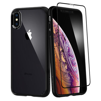 AU24.66 • Buy IPhone X/XS,XS Max,XR Spigen® [UltraHybrid 360] Shockproof Case+Screen Protector