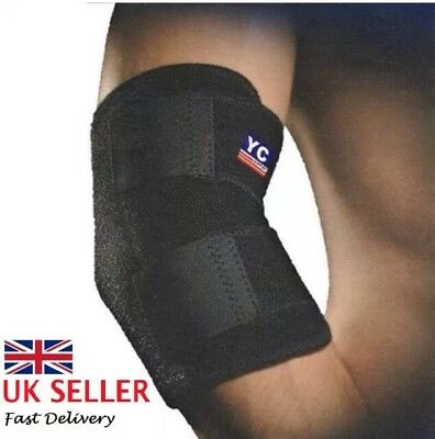 Tennis Elbow Support Strap Brace Band For Gym Sport Golfers Pain Epicondylitis • 3.99£
