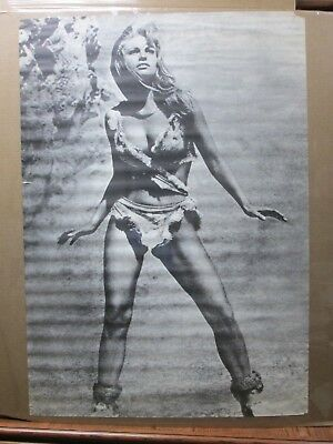 $ CDN231.64 • Buy Rachel Welch Hot Girl  Black White Vintage Poster 1970's 1 Mil Years BC Inv#2731