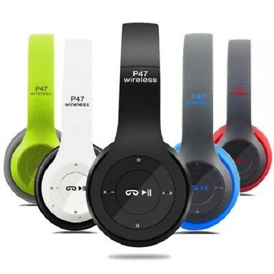 $ CDN23.67 • Buy New Foldable Wireless Bluetooth Stereo Headset Headphones With Microphone