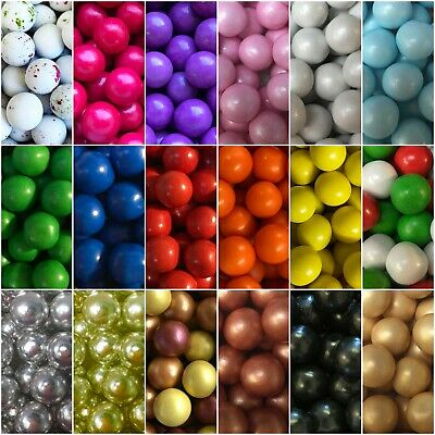 £3.50 • Buy Cupcake Sprinkles Edible 10mm Chocolate Balls Cake Toppers Decorations Birthday