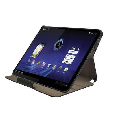 AU28.05 • Buy Muvit Cover With Stand For Motorola Xoom Snow Slim Elegant Black Faux Leather