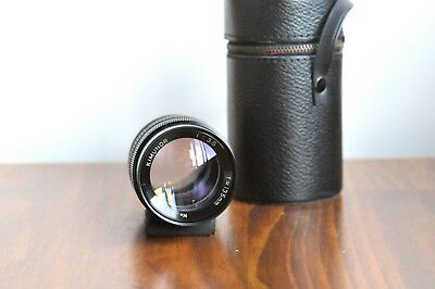 AU139.95 • Buy KIMUNOR 135mm F/3.5 For Pentax M42 Screw Mount W/ Leather Case *Smooth Aperture!