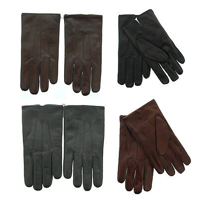 $63.99 • Buy Coach 82863 Men's Nappa Leather Basic Winter Driving Gloves, Cashmere Lined $128