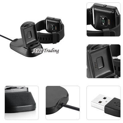 $ CDN13.58 • Buy Replacement USB Charging Cable Dock Cradle Power Charger For Fitbit Blaze Watch