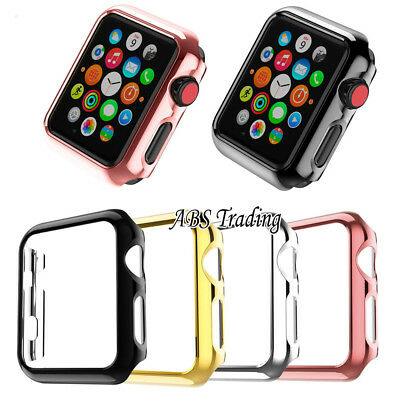 $ CDN10.15 • Buy Hard/Soft Screen Protector Case Cover For Apple Watch 1 2 3 4 5 6 38/40/42/44mm
