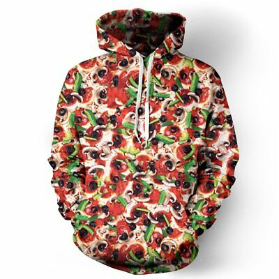 $ CDN92.51 • Buy NEW Beloved Shirts SUPREME PIZZA HOODIE SMALL-3XLARGE CUSTOM MADE IN THE USA EDM