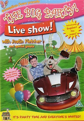 £19.99 • Buy THE BIG PARTY LIVE SHOW WITH JUSTIN FLETCHER DVD UK New Sealed R2