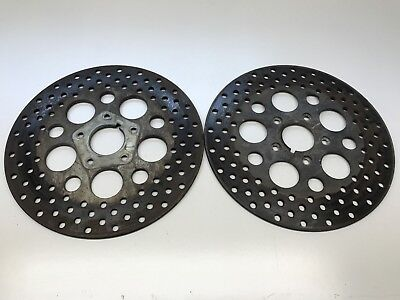 $69.50 • Buy Harley Davidson Road King Electra Touring Front Brake Rotors Left & Right Pair
